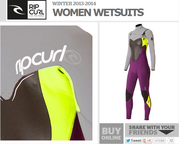 rip curl wetsuit
