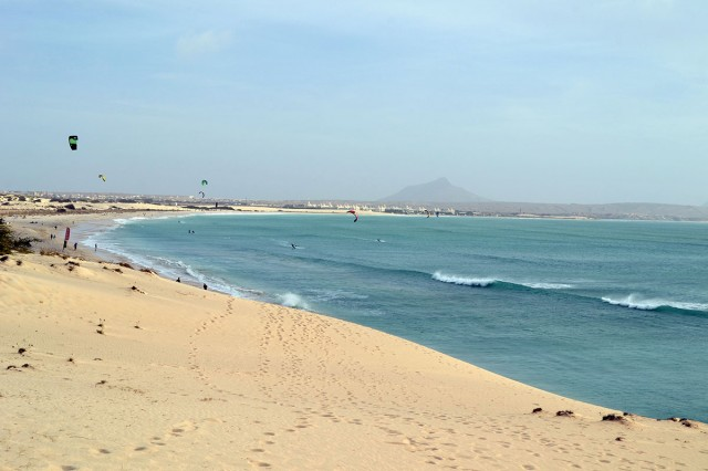 Kitesurfing vacation at Boa Vista, Cape Verde